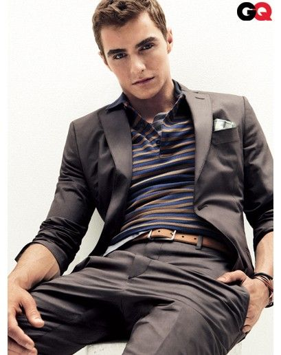 Love that you can make a suit look casual. Dave Franco