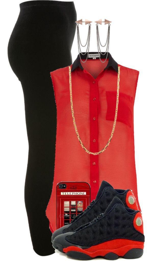 original red retro 11 outfits 13
