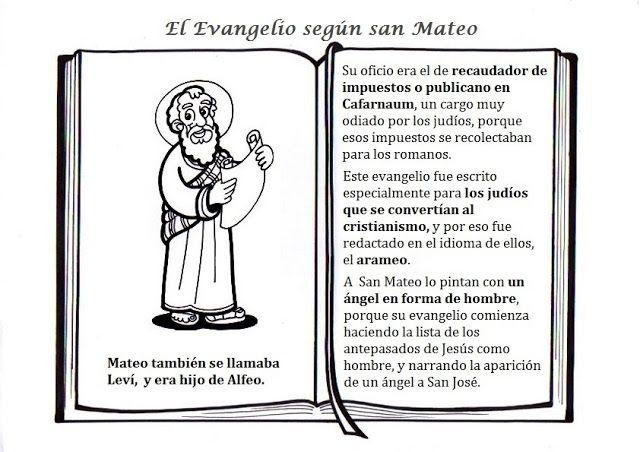 Evangelios Sinopticos Para Niños Buscar Con Google Evangelio Catequesis Catequista