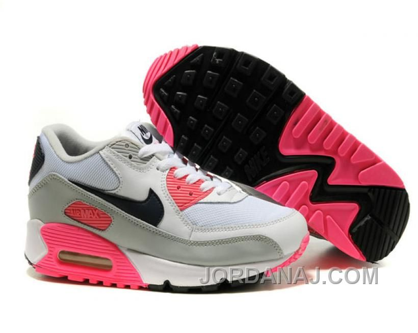 nike air max 90 white concord pink
