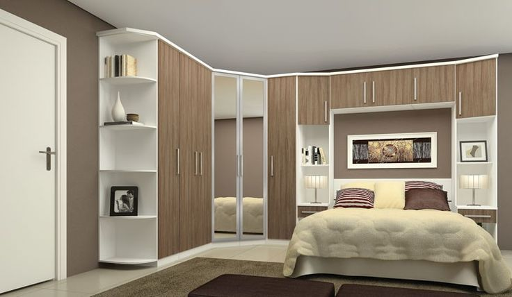 imagens de armarios planejados de quarto Pesquisa Google  ~ Quarto Casal Com Moveis Planejados