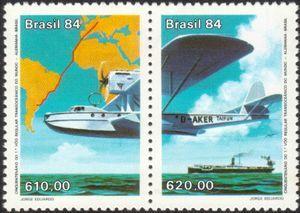 50 years Fly Brasil Germany