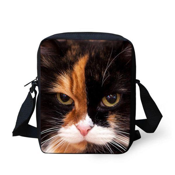 e2189261af ... new arrival f4948 88407 FORUDESIGNS Hot Women Messenger Bags Cute  Animal Denim Pet Cat Dog Crossbody ...
