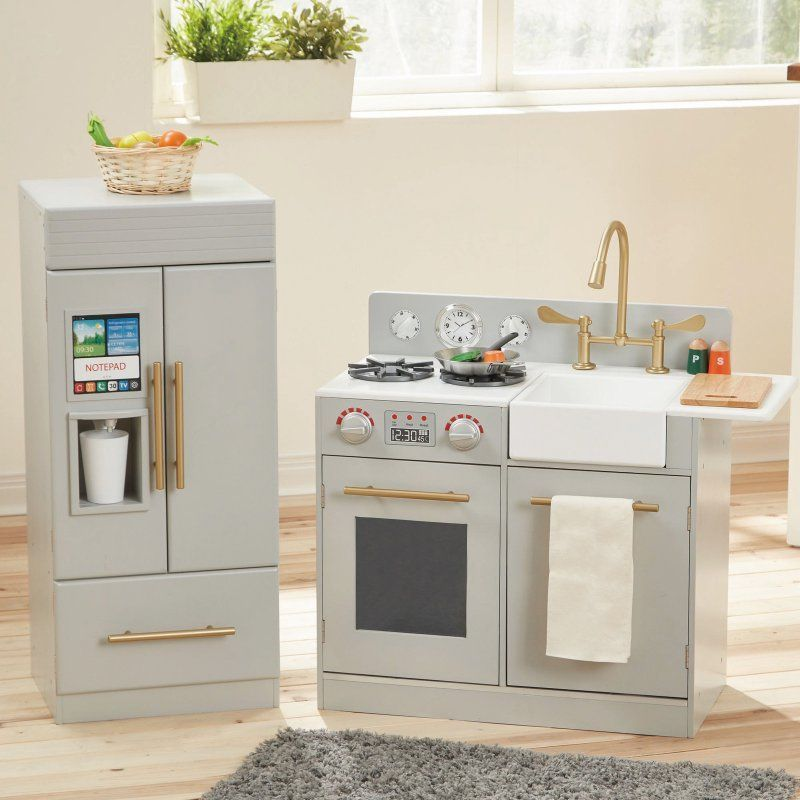 play kitchens for sale remodel kitchen and bathroom teamson kids urban adventure with ice maker td 12302a