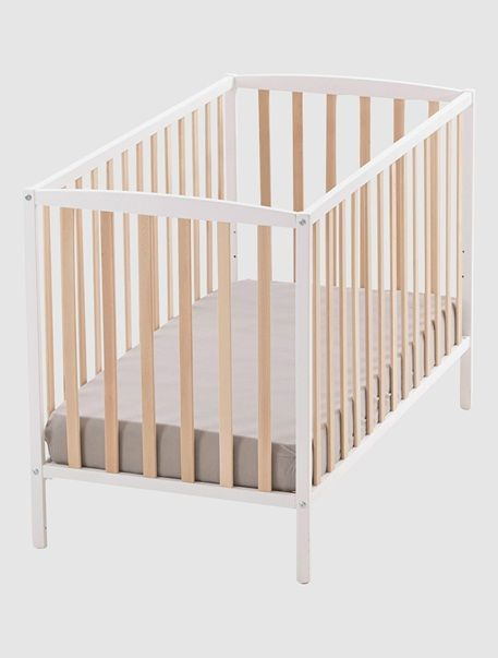lit b b ang nid barreaux blanc bois 1 bambino pinterest barreau lit bebe et. Black Bedroom Furniture Sets. Home Design Ideas