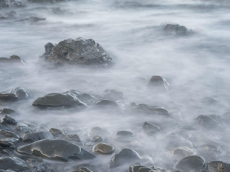 Floating stones, near Kaikoura