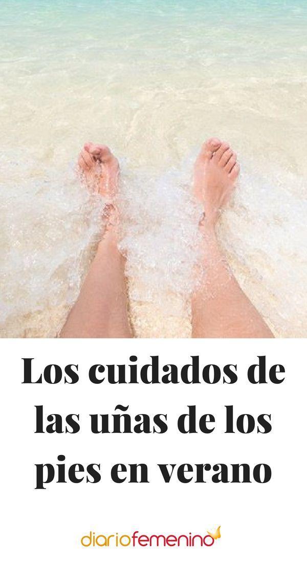 Los cuidados de las uñas de los pies en verano -