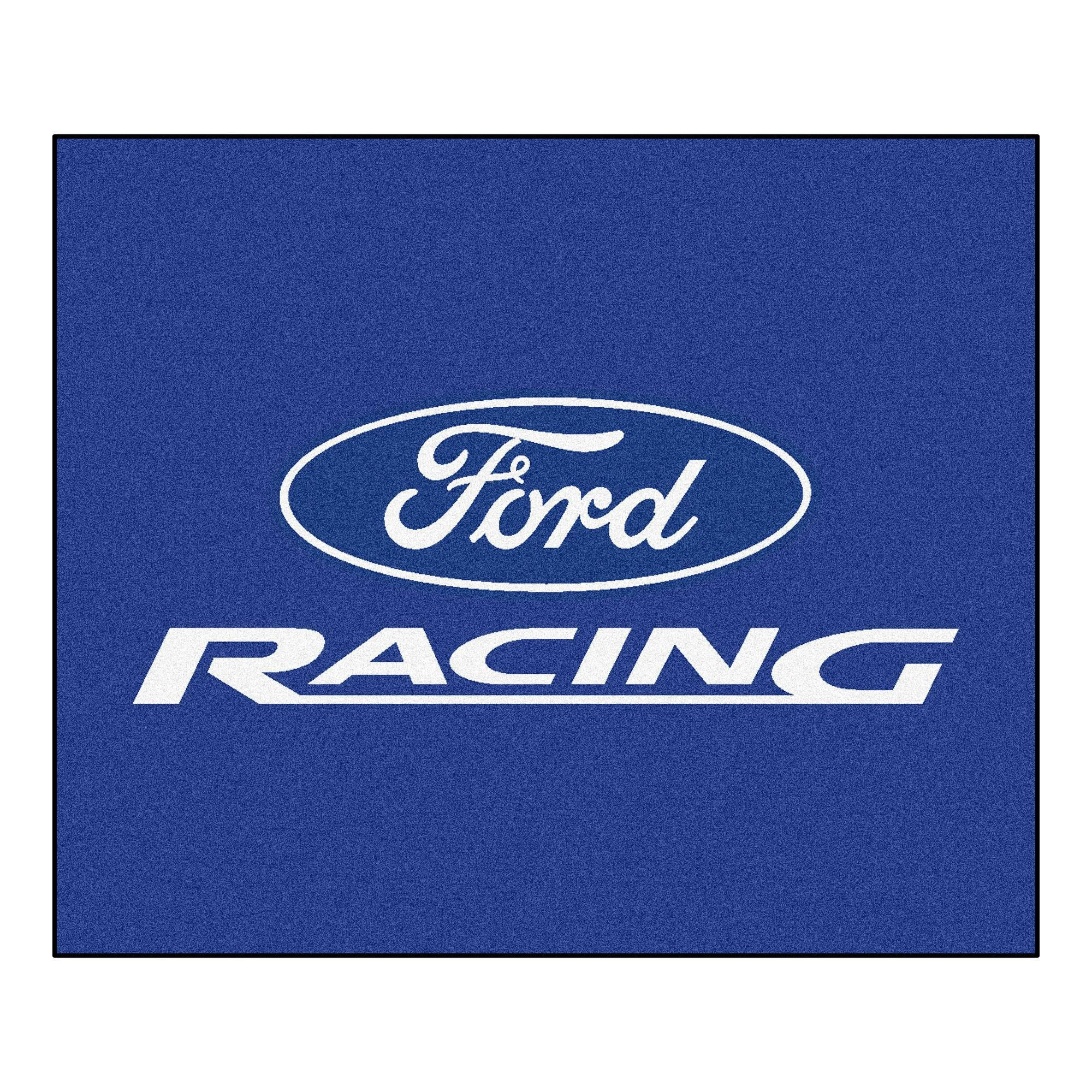 Ford Racing Tailgater Rug 5x6 - Blue