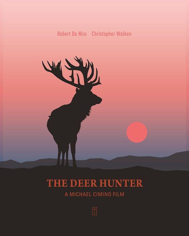 'The Deer Hunter' Sticker By Part Studio