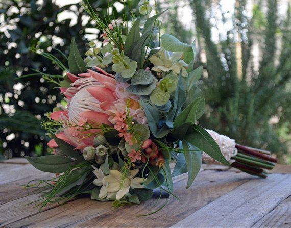 Elanora Wedding Bouquet Artificial Bouquet By