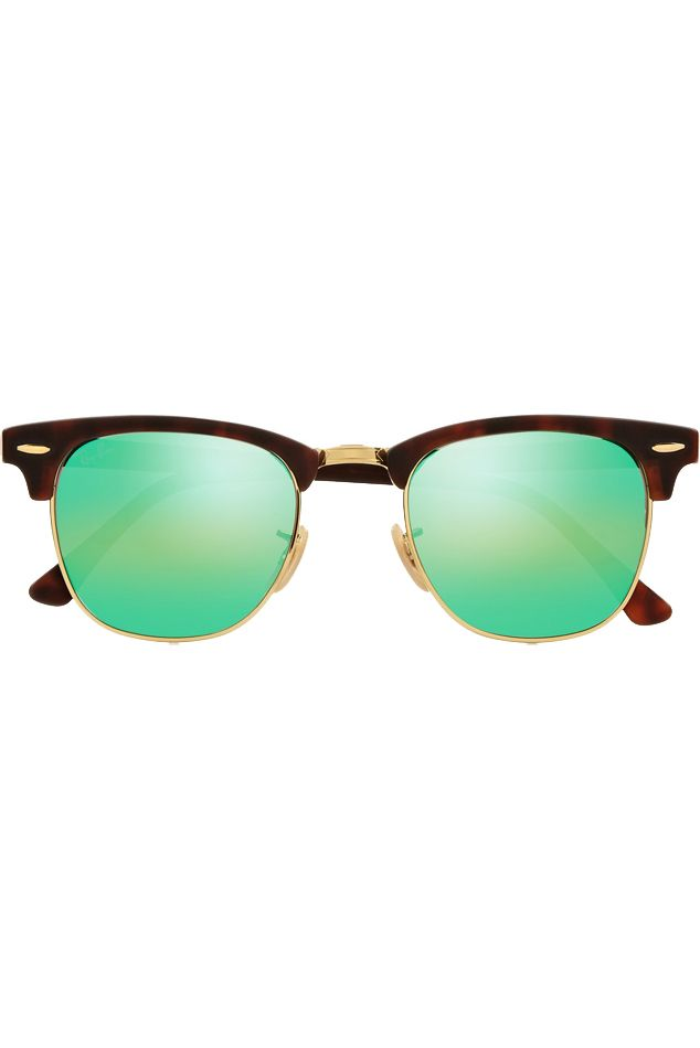 ce39013def Ray-ban Clubmaster Havana Green Sunglasses in Green