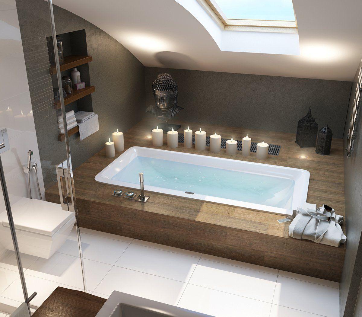 Penthouse Design Wohnung Wohnung badezimmer, Badezimmer