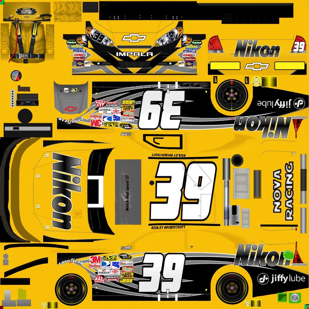 NASCAR Templates 2013 | Nascar Diecast Templates 2013 nascar ...