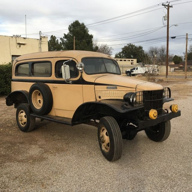 1941 dodge wc 10 carryall dodge powerwagons pinterest for Motorized wagon for sale