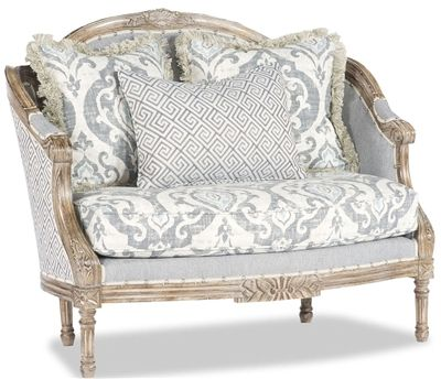 Best Antique Blue Accent Chair Luxury Bedroom Furniture Blue 400 x 300