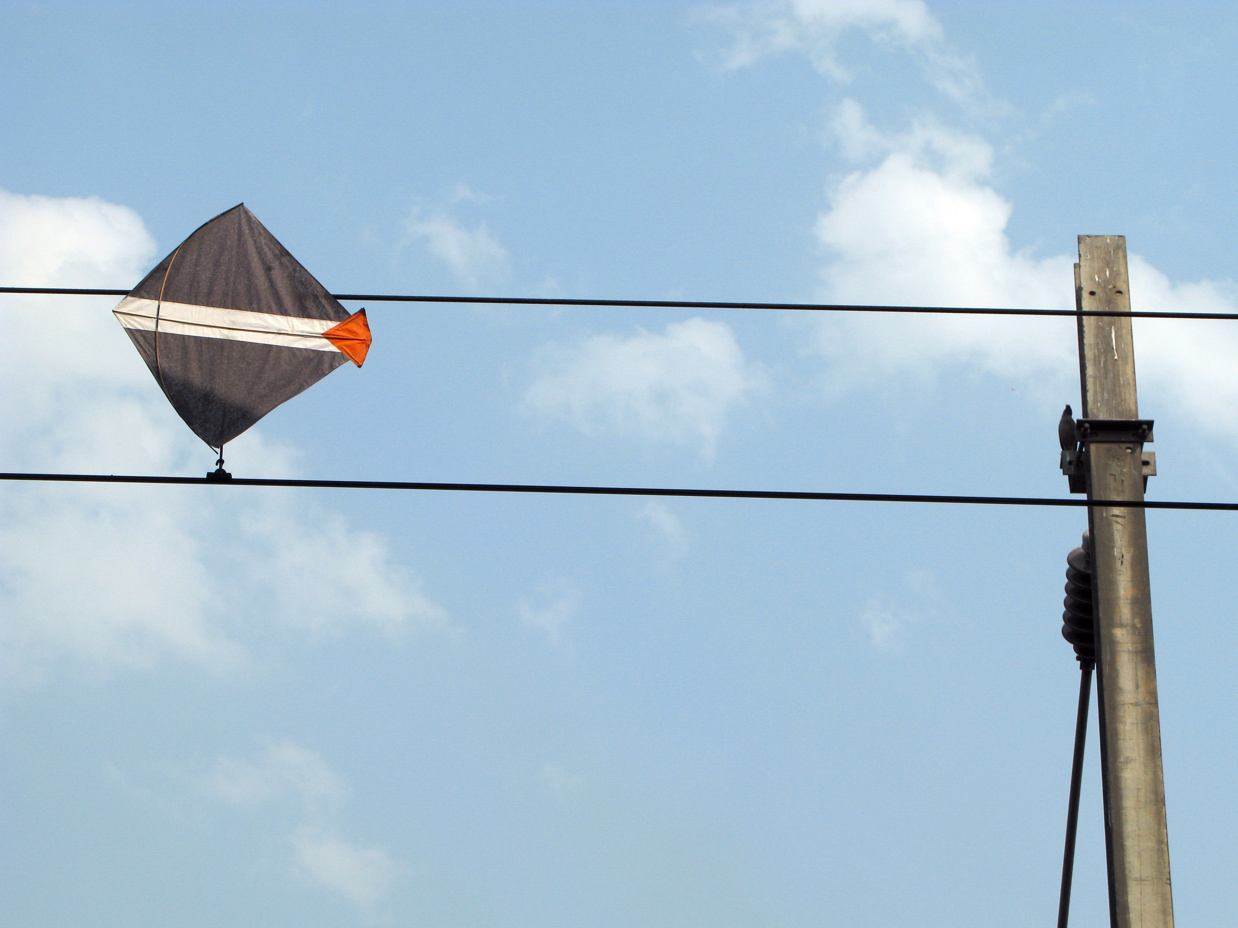 Stay safe outdoors, too! Never fly kites near overhead wires and use ...