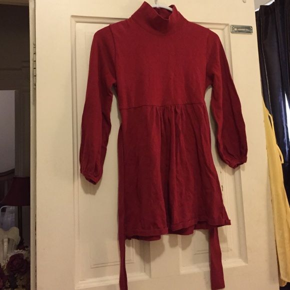 Maternity sweater top Blood red colored sweater maternity top Olian Tops