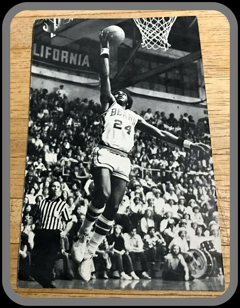 197677 CALIFORNIA BEARS BASKETBALL SCHEDULE 31/2 BY 51/2