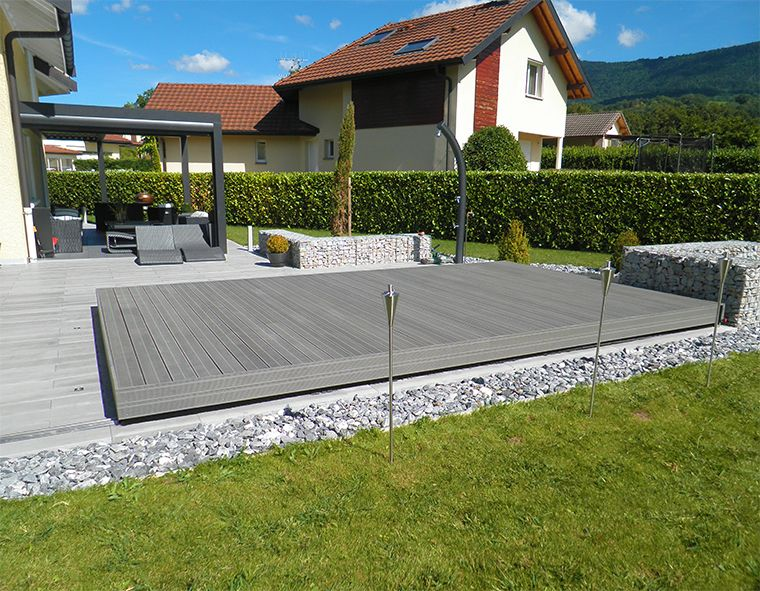 fabrication d 39 une terrasse mobile en suisse par octavia abris piscines patio et jardin. Black Bedroom Furniture Sets. Home Design Ideas