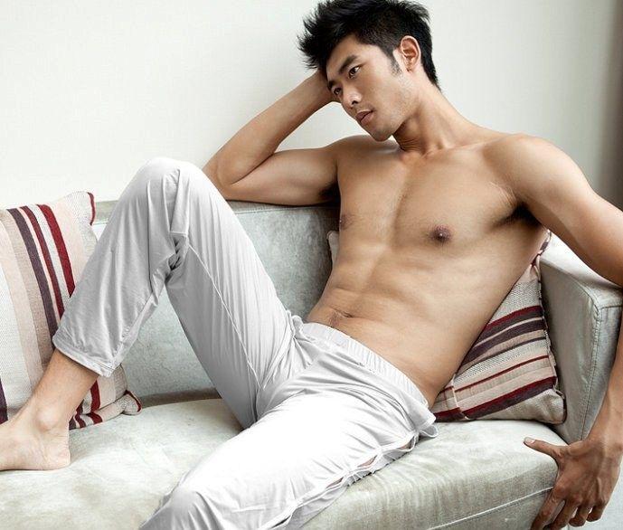 Men asian gay Naked fucking