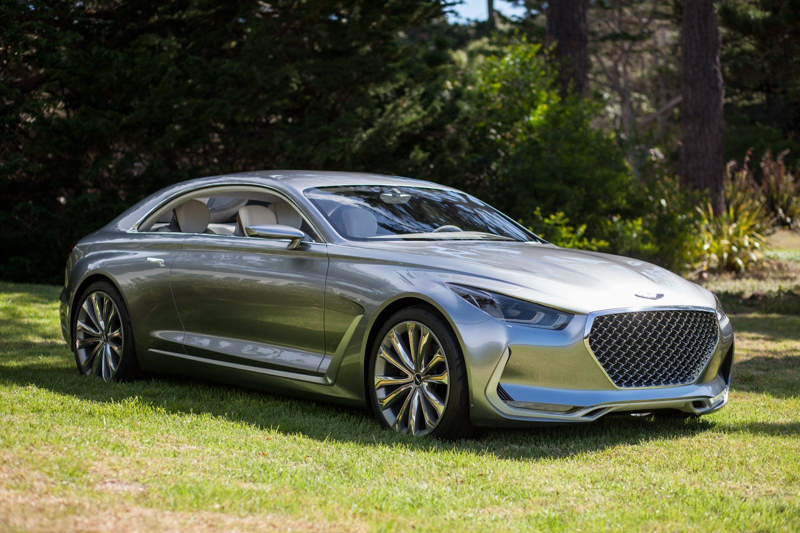 2018 Hyundai Genesis Coupe >> Hyundai Vision G Coupe Concept Art On Wheels Other