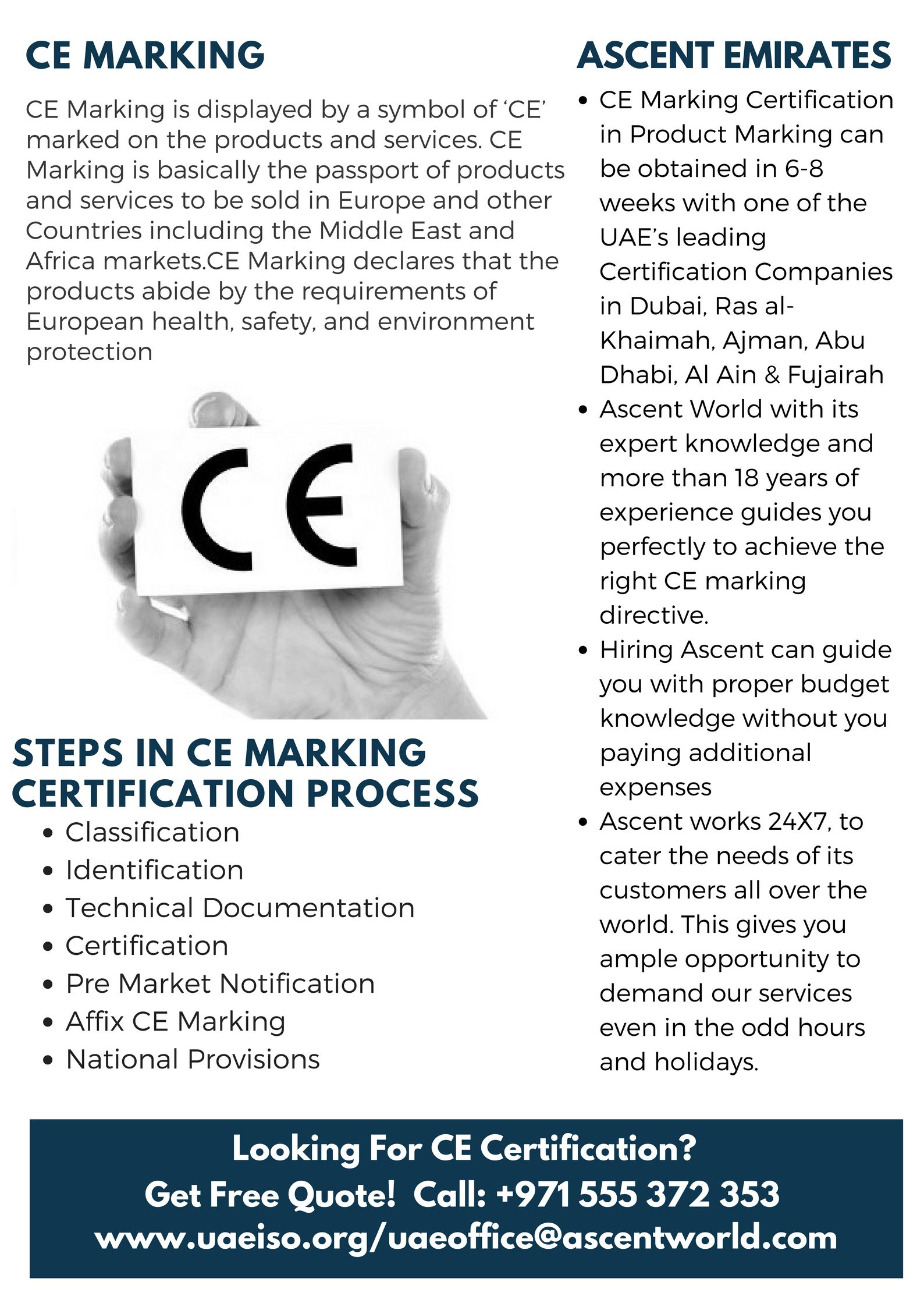 Ce Marking Certification In Product Marking Can Be Obtained In 6 8