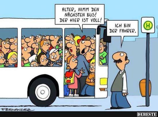 Fliesenleger witz  Alter, nimm den nächsten Bus!.. | DEBESTE.de, Lustige Bilder ...