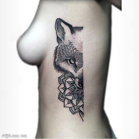 #Tattoo by @otheser_stc /// #⃣#Equilattera  #tattoos #tat #tatuaje #tattooed #tattooartist #tattooart #tattoolife #tattooflash #tattoodesign #tattooist  #bestoftheday #original #miami #mia #creative #black #awesome #love #ink #art #design #artist #illustration #animal #mandala #geometry #fox  Posted by @GerardoWaz