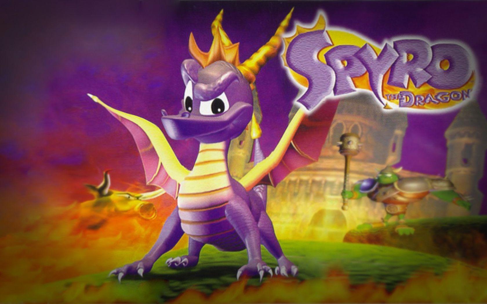 Spyro The Dragon Wallpapers Wallpaper Cave Spyro Trilogy