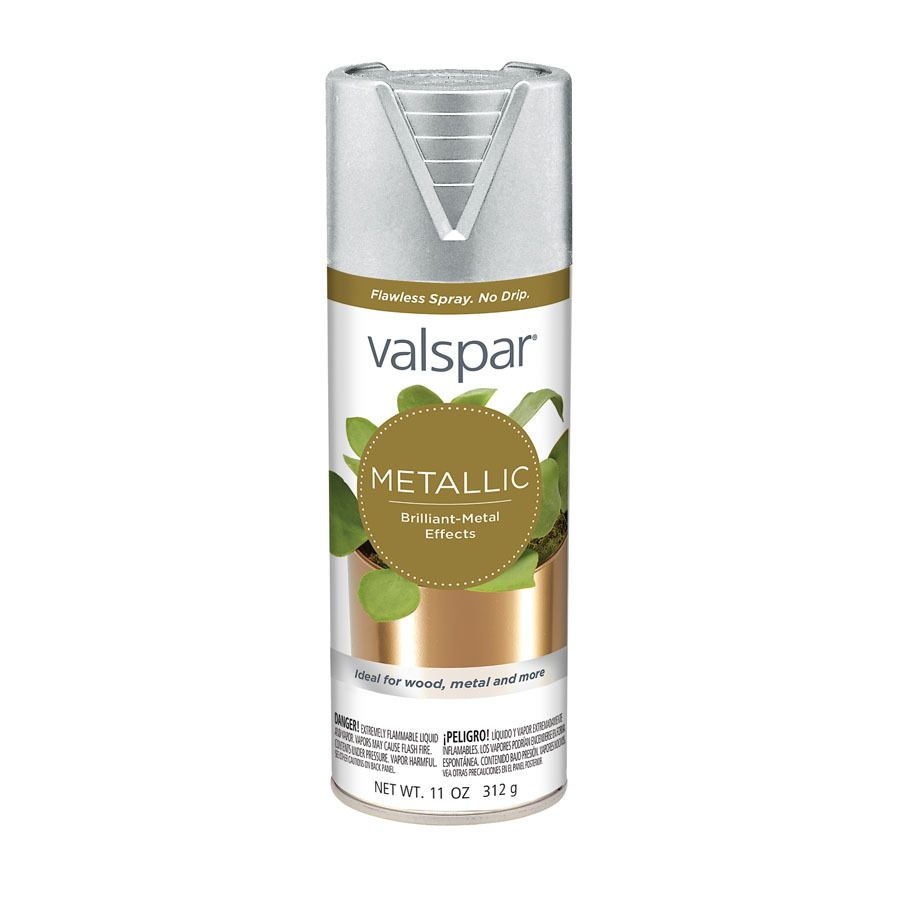 valspar silver metallic fade resistant enamel spray paint on lowe s virtual paint a room id=46498