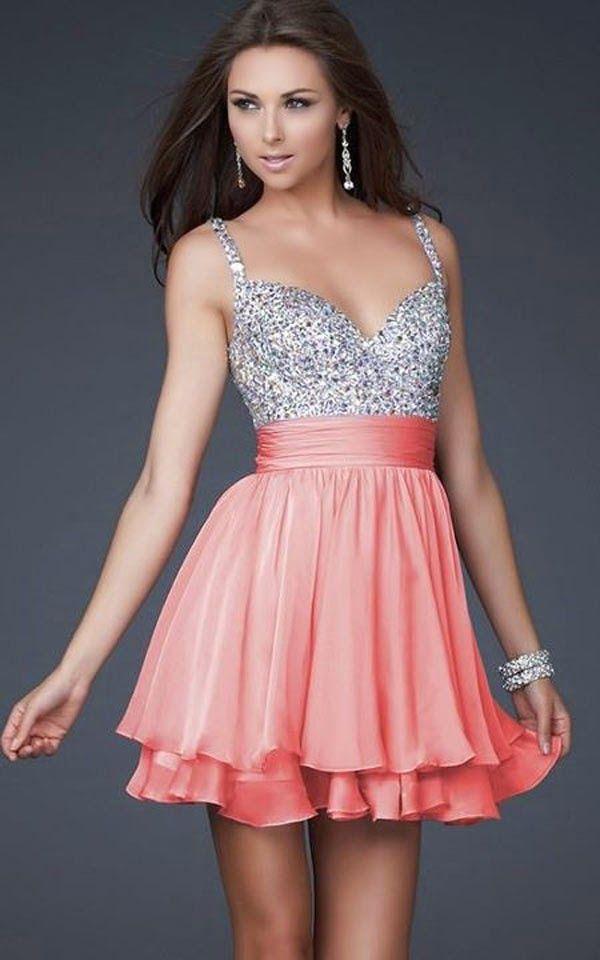 Vestidos de fiesta | vestidos cortos 15 años | Pinterest | Vestidos ...