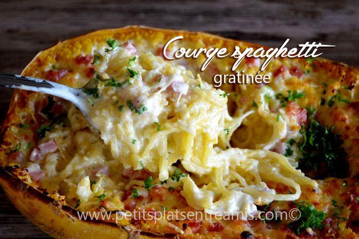 C est la premi re fois que je cuisine une courge spaghetti et le r sultat est plut t r ussi j - Cuisiner courgette spaghetti ...