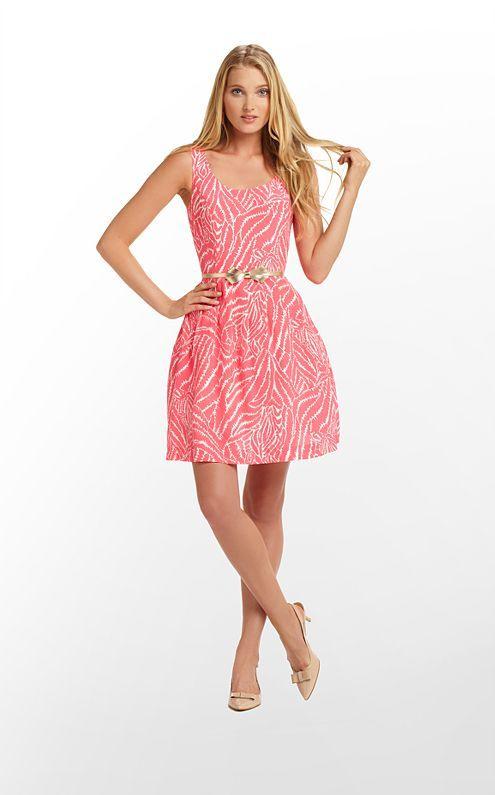 Posey Dress in Splash Pink Show Your Stripes $258 (w/o 2/2/12) #lillypulitzer #fashion #style