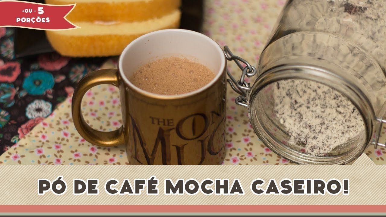 Como fazer um pó caseiro para café mochaccino.