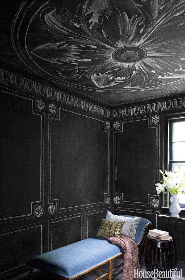 Rajiv Surendra Letters In Ink Black Room Decor Room