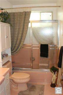 1960's Malibu Inspired New Construction modern-bathroom