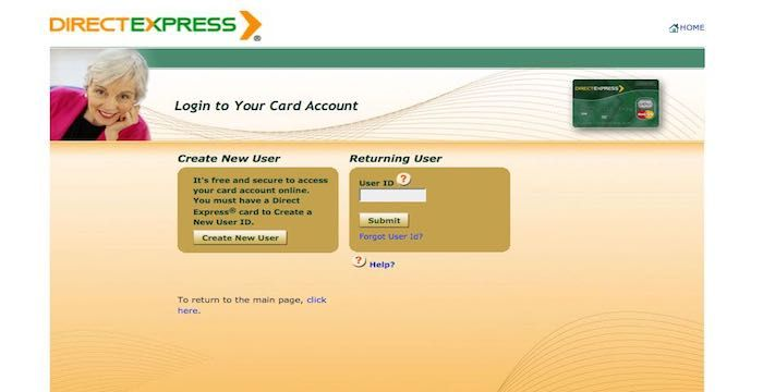 Direct Express Login Directions Online Accounting Expressions