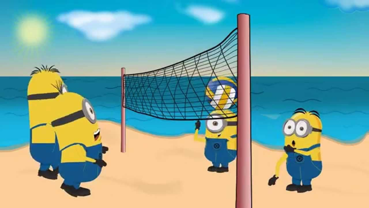 Minions Beach Volleyball Beach Volleyball Volleyball Volleyball Games