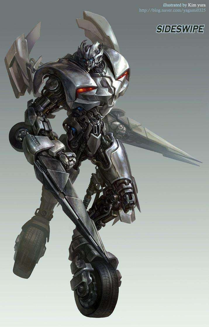 Transformers movie - Sideswipe by GoddessMechanic on deviantART
