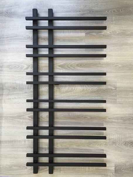 Design Badheizkörper VENTO 1200 x 550 mm. Schwarz ...