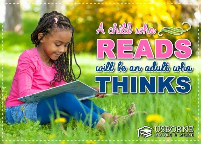A Child That Reads Will Be An Adult Who Thinks Book Quote Ubam