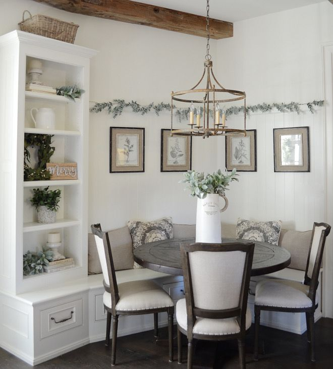 Wall Paint Color Swiss Coffee By Benjamin Moore Dining Room Small Home Decor Dining Room Decor