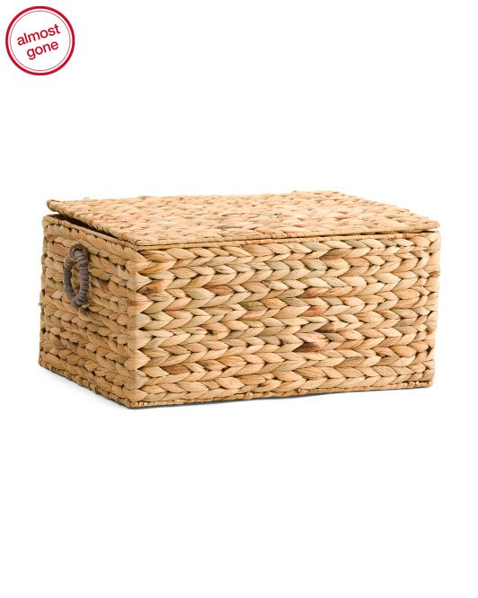RGI Sustainable Home: Natural Woven Storage Trunk | Home | Pinterest