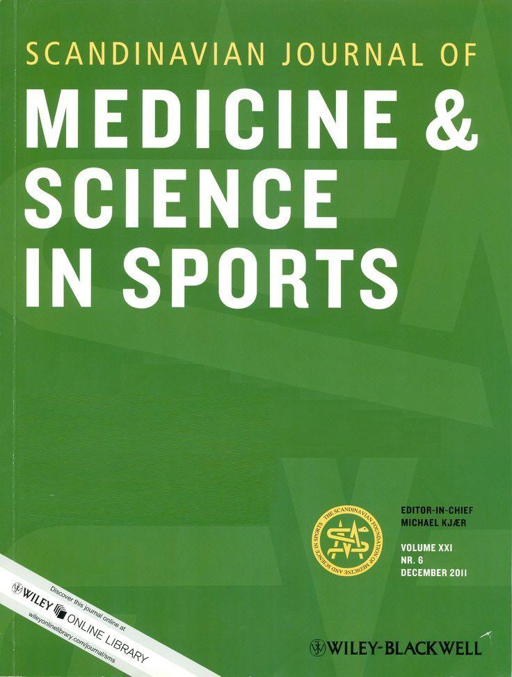 Scandinavian Journal Of Medicine Science In Sports New Availability 1991 1996 Medicine Journal Online Library Medicine