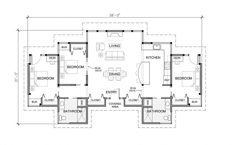 Wonderful Eco-Friendly Homes Floor Plan of Unique Design: Large Eco Friendly Homes Floor Plans With Three Bedroom ~ novavn.com Art