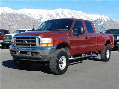 Ford Crew Cab Lariat 4x4 Powerstroke Diesel Custom Lift Wheels