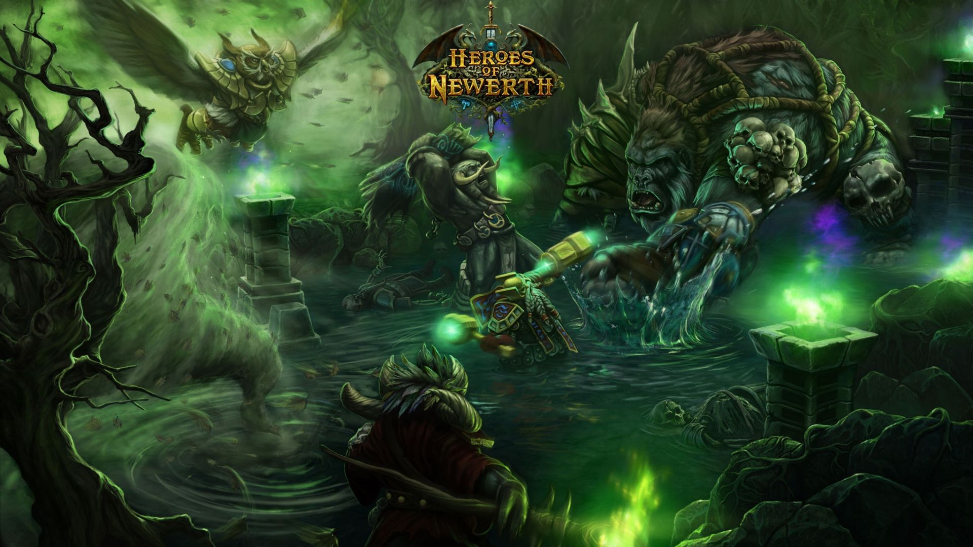 world of warcraft, heroes of newerth, characters http