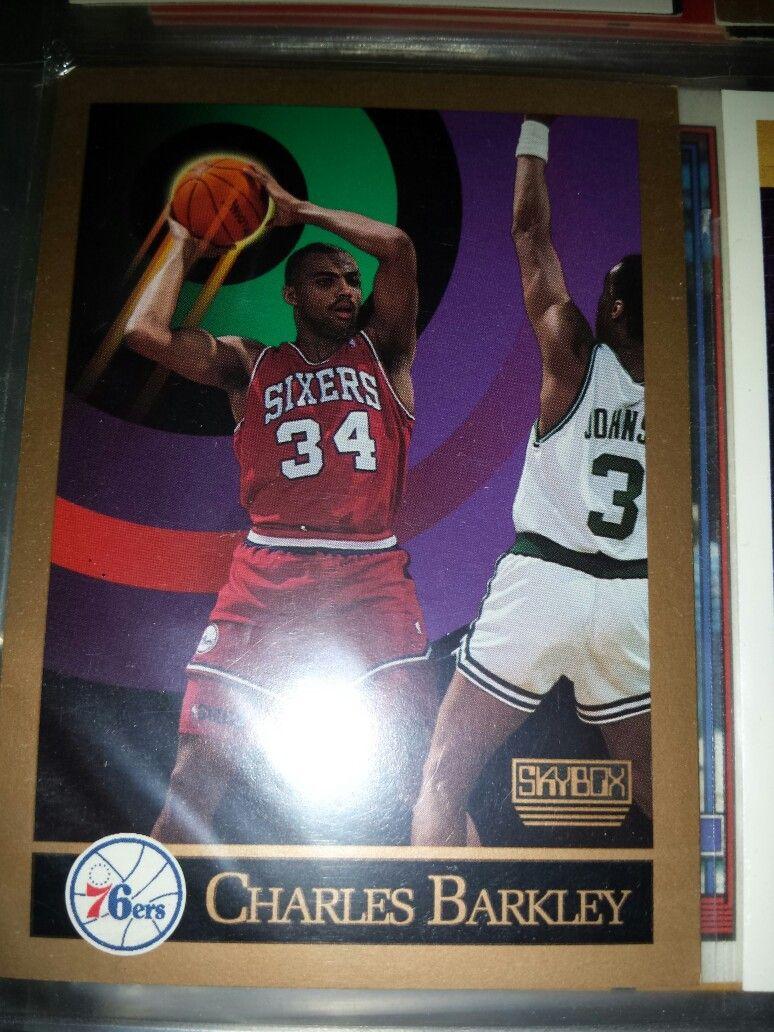 Charles Barkley basketball card Charles barkley