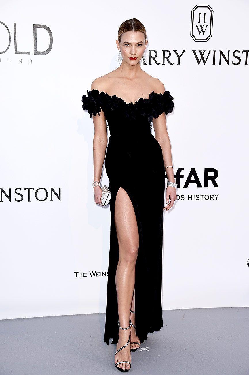 ce6cd08b5 La gala amfAR o la noche más divertida de Cannes KARLIE KLOSS