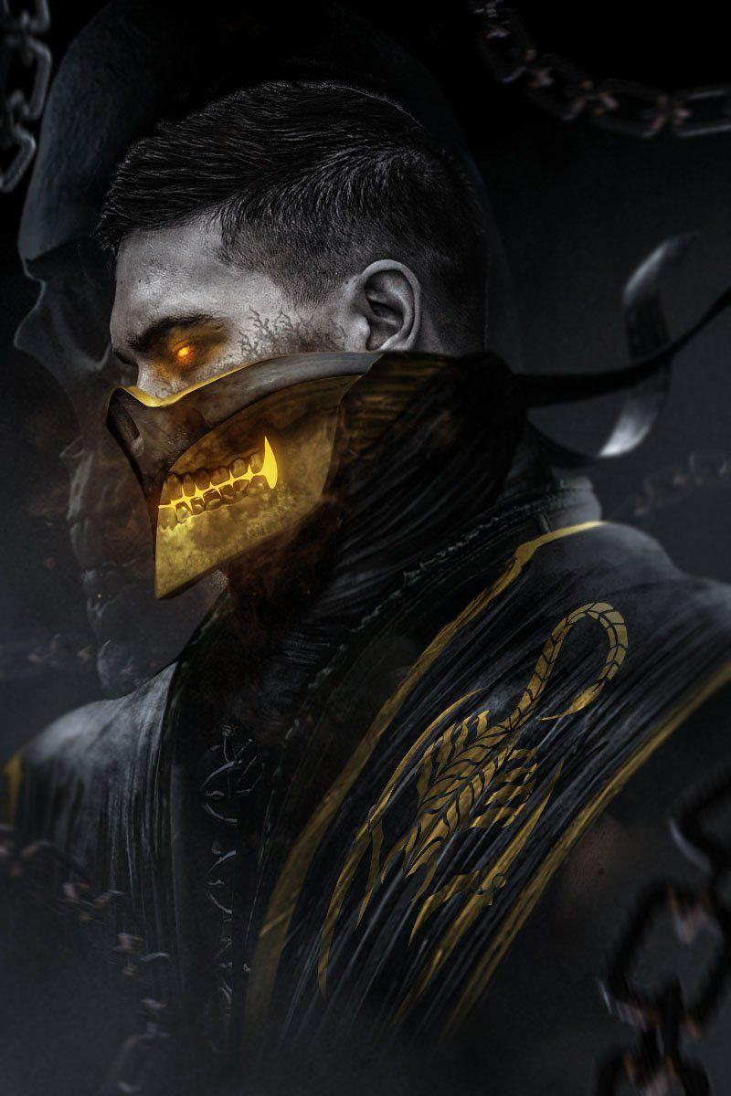 Bosslogic On Twitter Mortal Kombat Art Scorpion Mortal Kombat Mortal Kombat